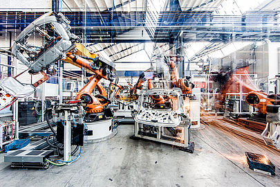 LÄPPLE AUTOMOTIVE, body-in-white assembly line